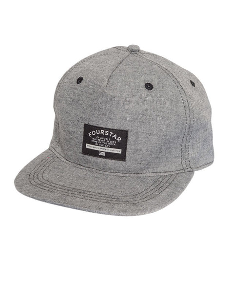 Chambray Cap :: Grey