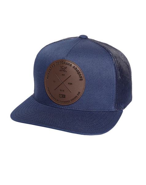 Circle Label Trucker :: Navy