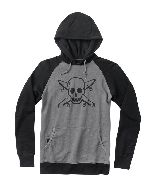 Street Pirate Hood :: Gunmetal Heather