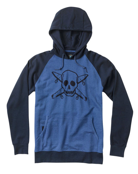 Street Pirate Hood :: Royal Heather