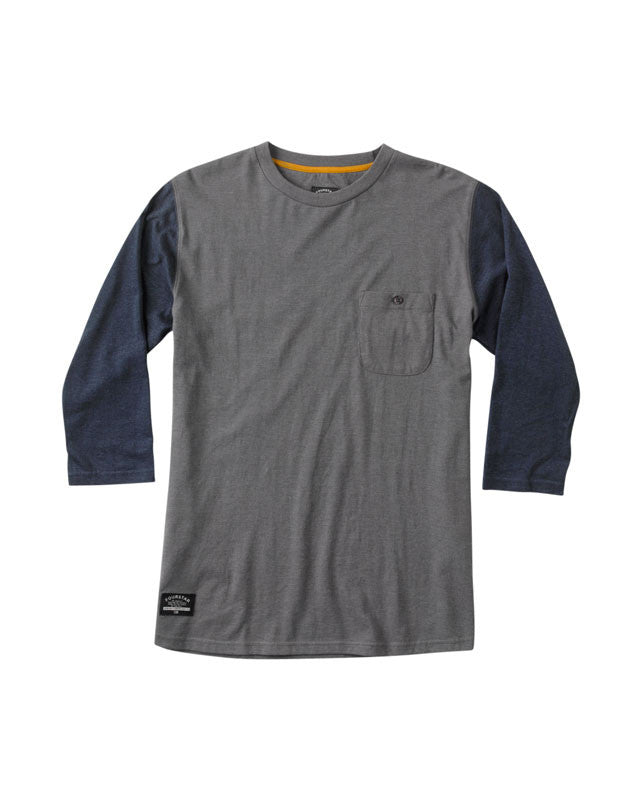 Leavenworth 3/4 Sleeve :: Gunmetal