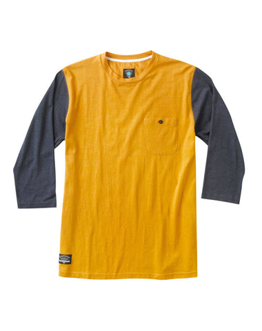 Leavenworth 3/4 Sleeve :: Mustard