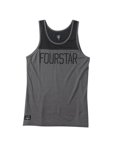 League Tank :: Gunmetal Heather