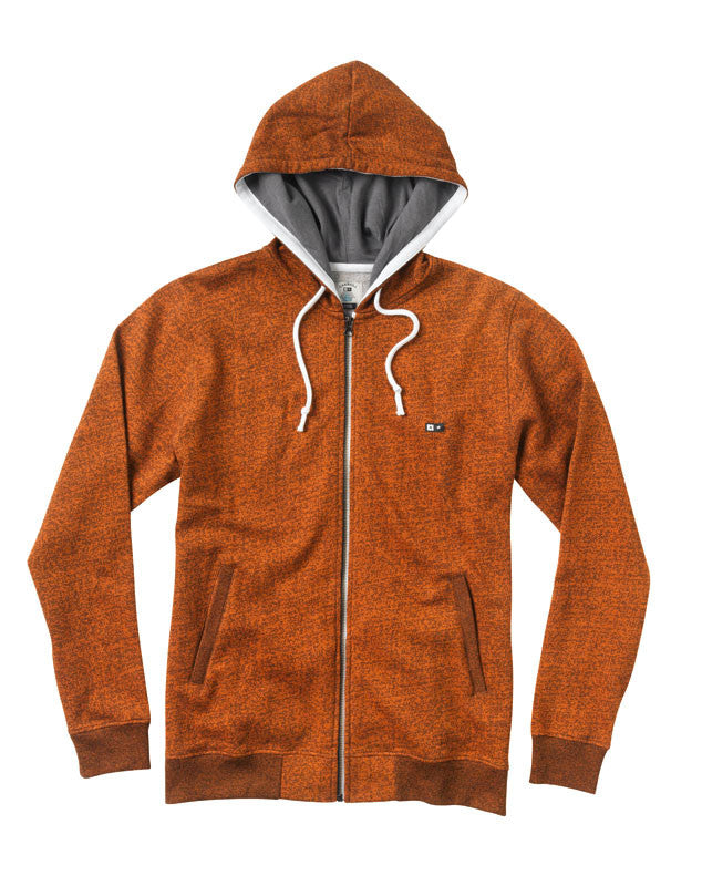Carroll Zip Hood :: Orange