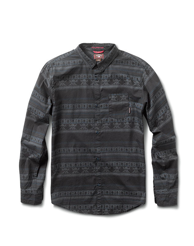 Gonz Flood Long Sleeve :: Midnight
