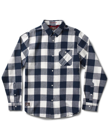 Ishod Buffalo Flannel :: Navy