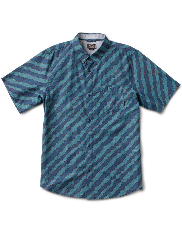 Kennedy Short Sleeve :: Aqua