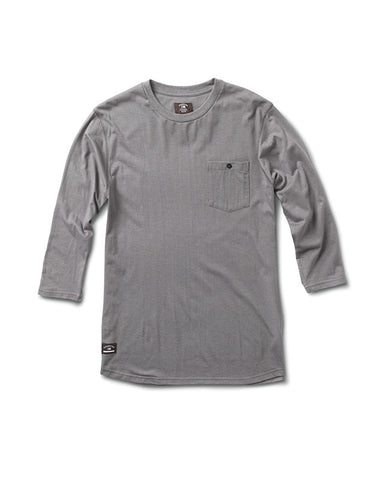 Leavenworth 3/4 Sleeve :: Gummetal Heather