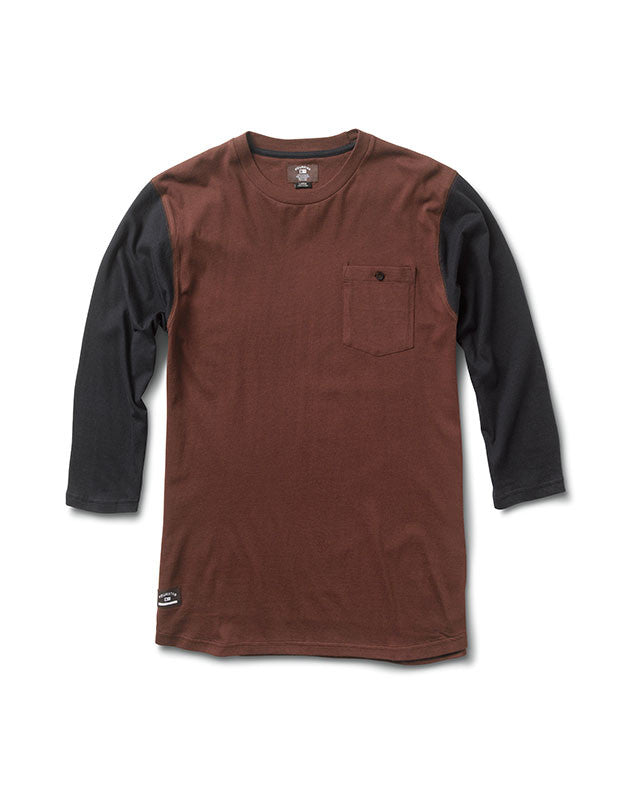 Leavenworth 3/4 Sleeve :: Merlot