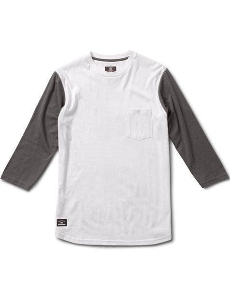 Leavenworth 3/4 Sleeve :: White
