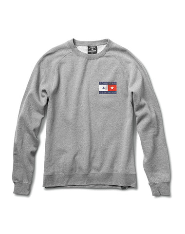 LOCKWOOD CREW :: ATHLETIC HEATHER GREY