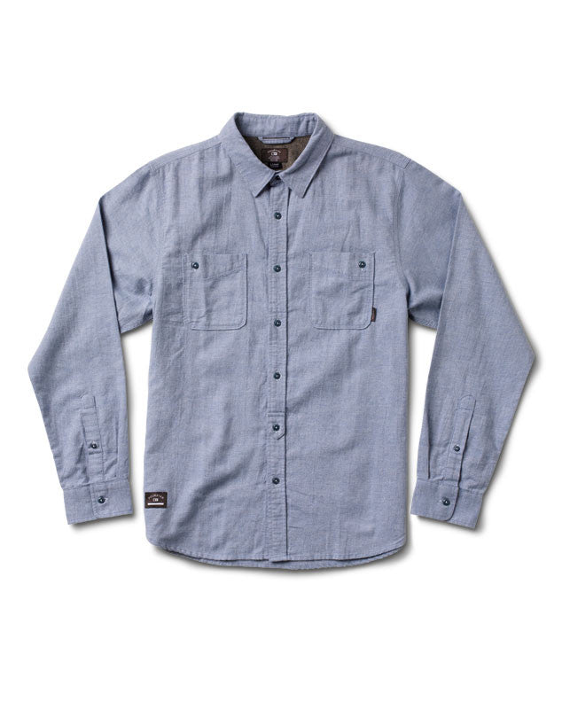 Loxford Long Sleeve :: Light Indigo