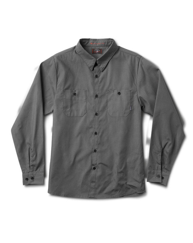 Max Long Sleeve Workshirt :: Charcoal