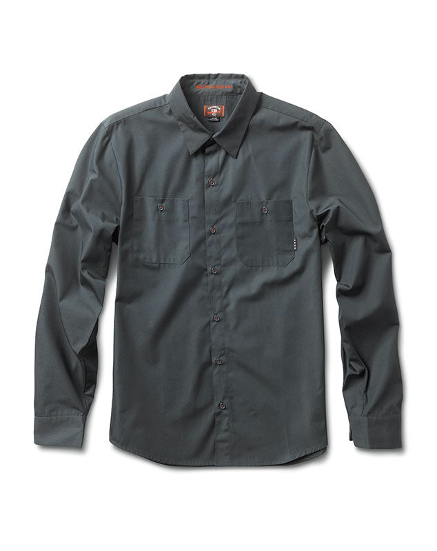 Max Workshirt Long Sleeve :: Dark Seafoam