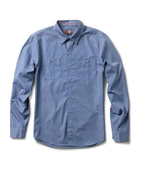 Max Workshirt Long Sleeve :: Pale Blue