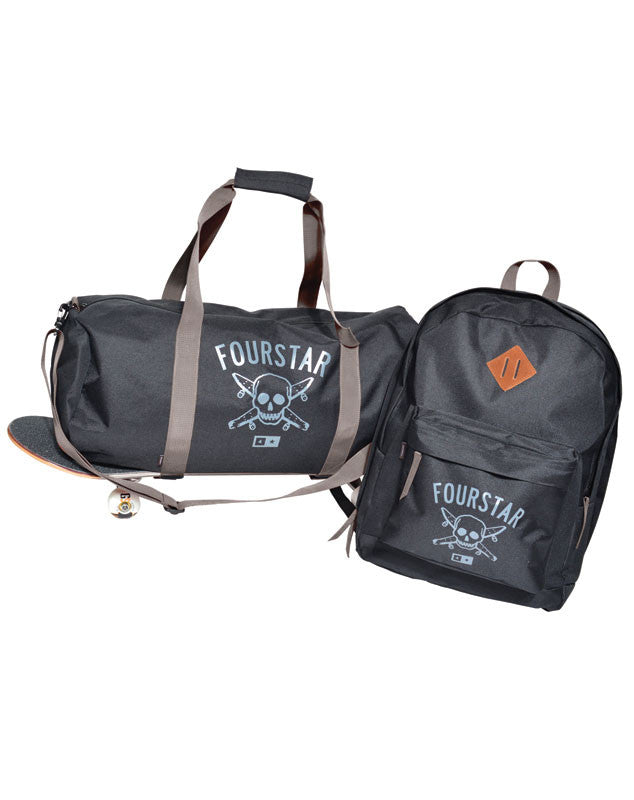 Pirate Duffle and Bag :: Black