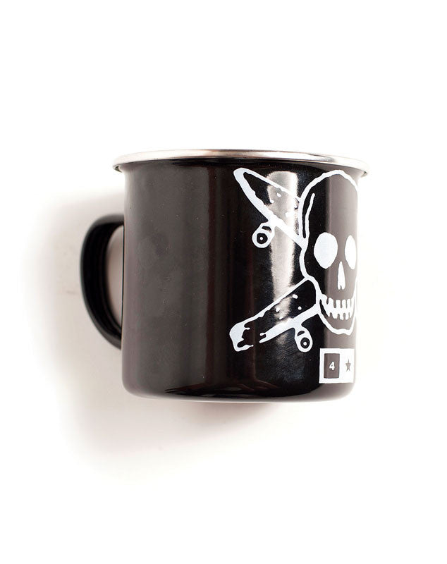 Pirate Enamel Mug
