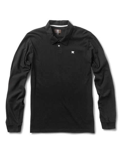 Pirate Polo Long Sleeve :: Black