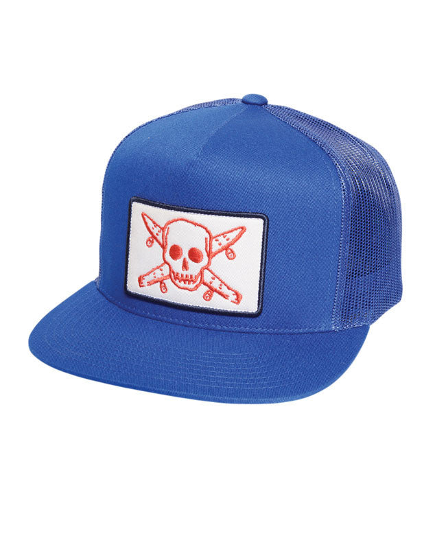 Pirate Patch Trucker :: Royal