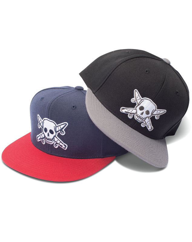 Street Pirate Snapback :: Charcoal