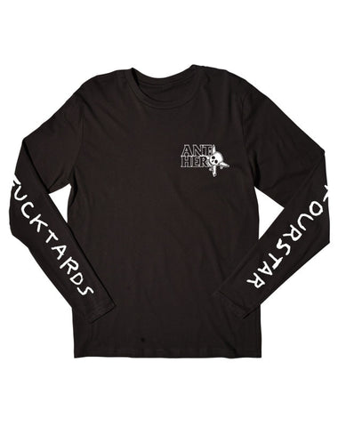 Thumbs Up Long Sleeve T-Shirt :: Black