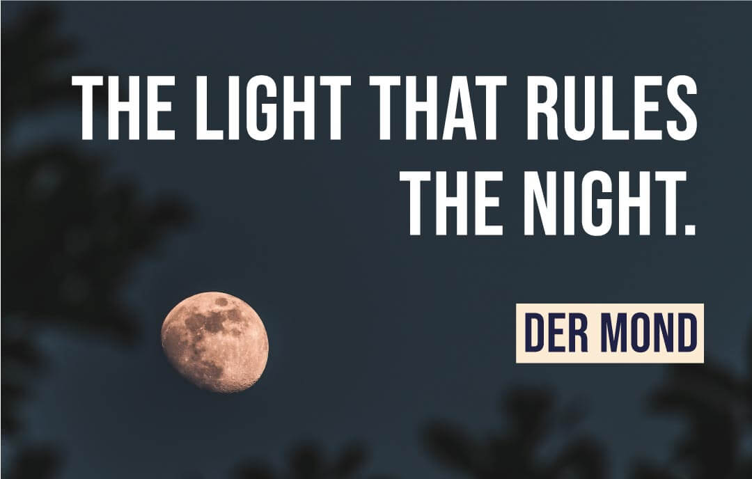 The light that rules the night - der Mond