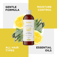 Lemon Sage Oily Hair Shampoo For Men And Women
