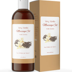 Very Vanilla Scented Massage Oil