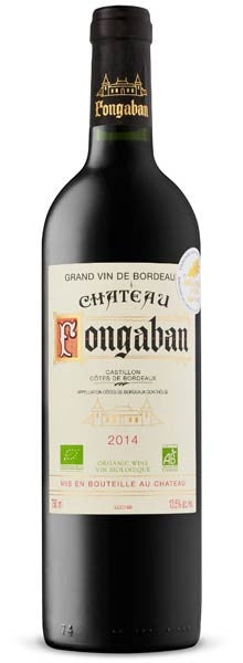 Chateau Fongaban 2014 Castillon AOC (Bordeaux, France)