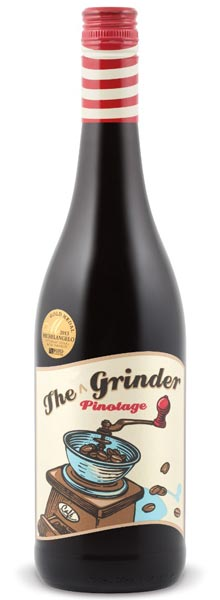 The Grinder 2013 Pinotage (Paarl, South Africa)