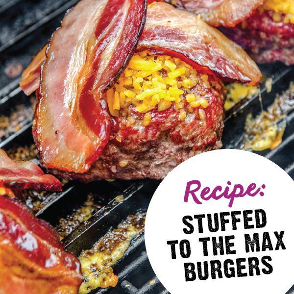 Stuffed-To-The-Max Burger