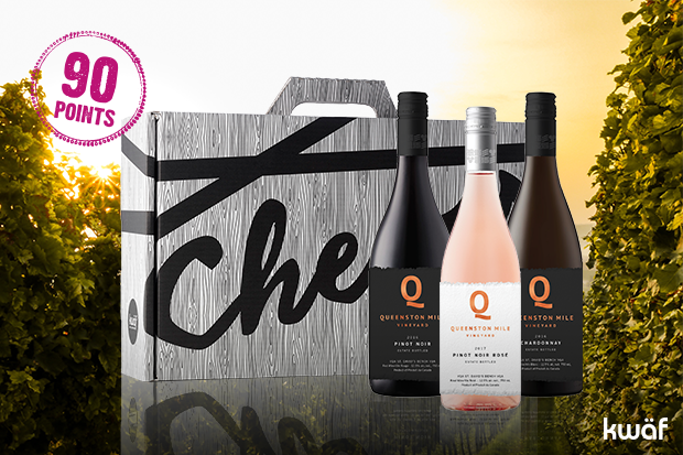 Queenston Mile Vineyard Pre-Release Wine Trio