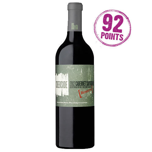 Creekside Estate Winery 2012 Reserve Cabernet Sauvignon