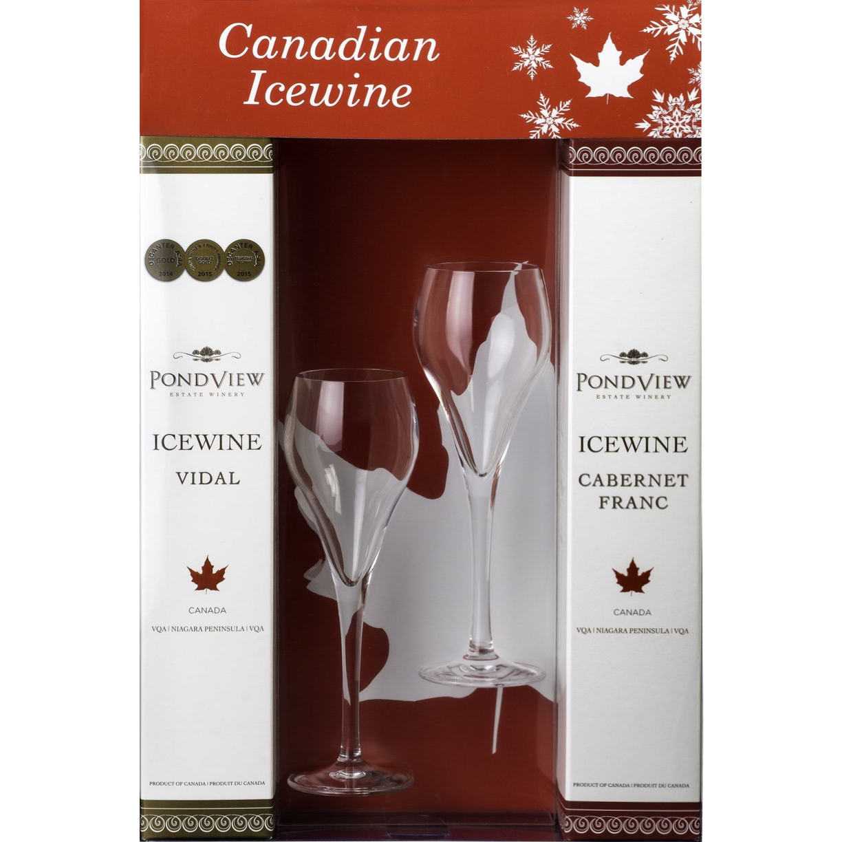 Pondview: 'Taste of Canadian Icewine' gift set