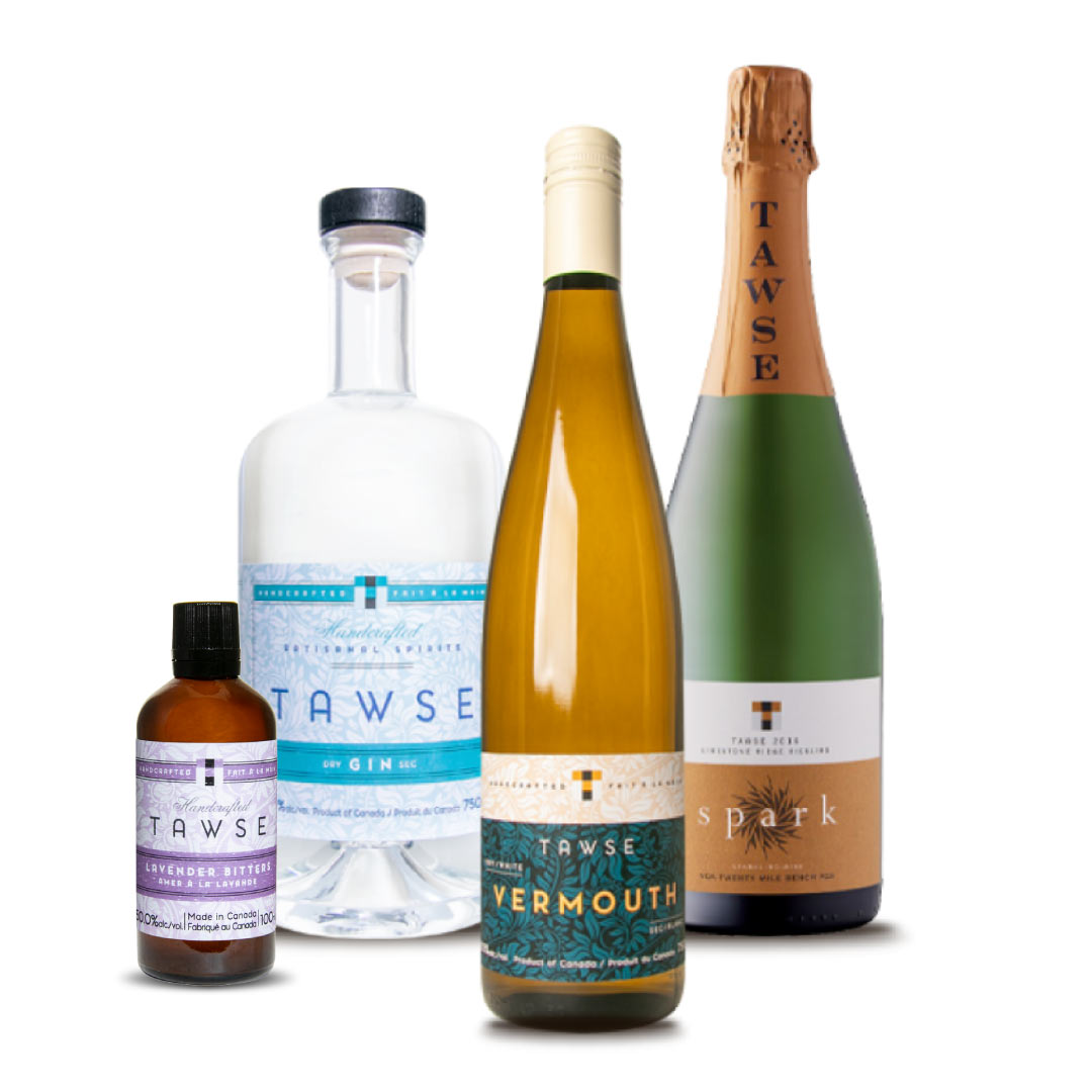 Tawse Winery - 'Gin-gle All the Way' Pack (Shipping Included)