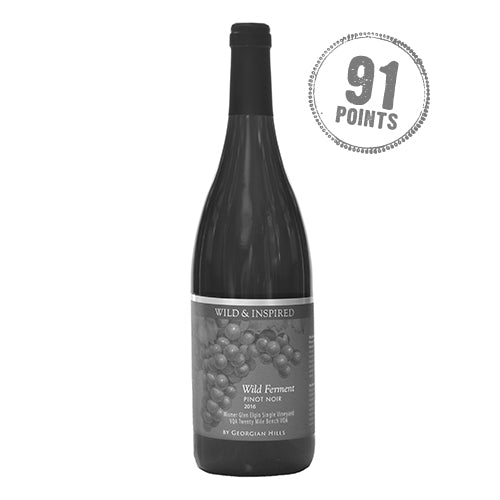 Wild & Inspired by Georgian Hills 2016 Pinot Noir Wild Fermented Cuvee Wismer Vineyard