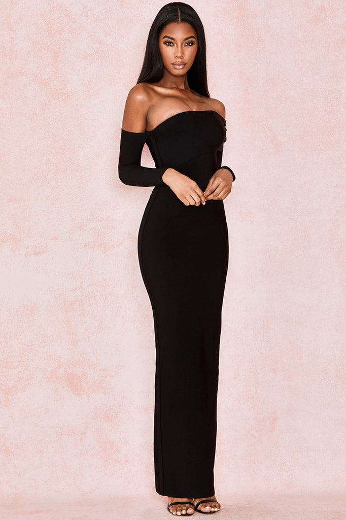 Jillian Maxi Dress | Black