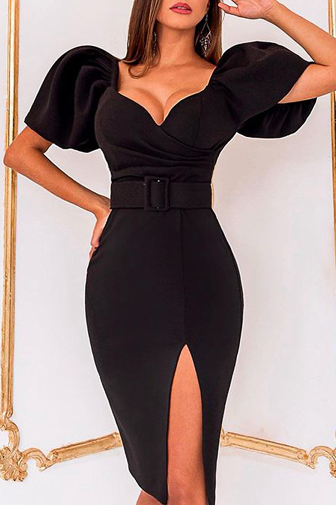 Lorelei Bodycon Dress- Black