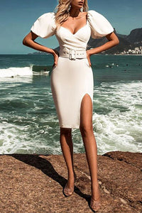 Lorelei Bodycon Dress- White