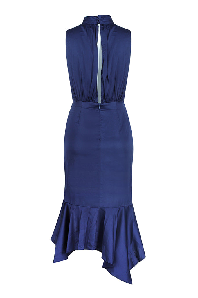 Tamara Lace Dress- Blue
