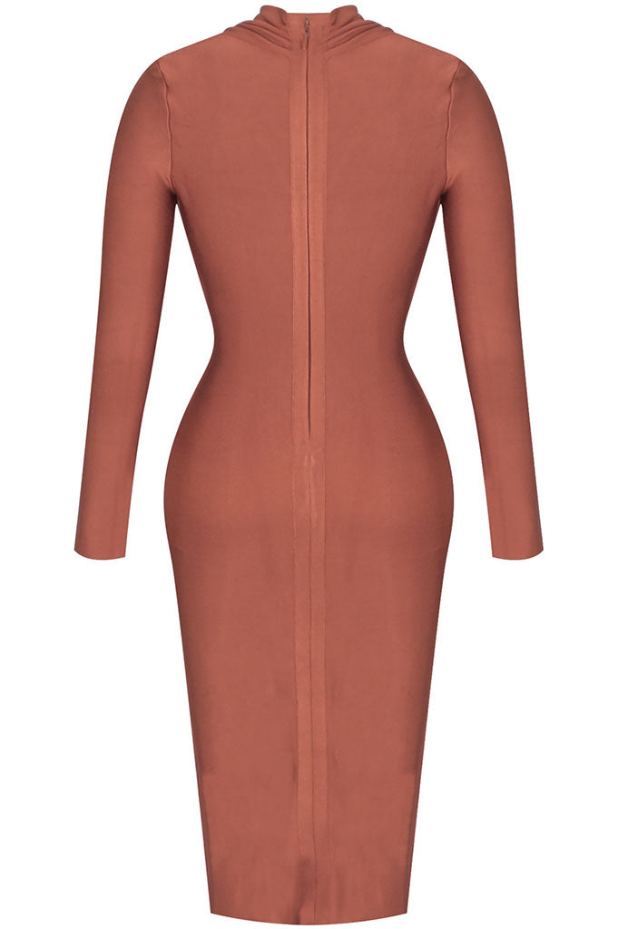 Terracota Bandage Dress