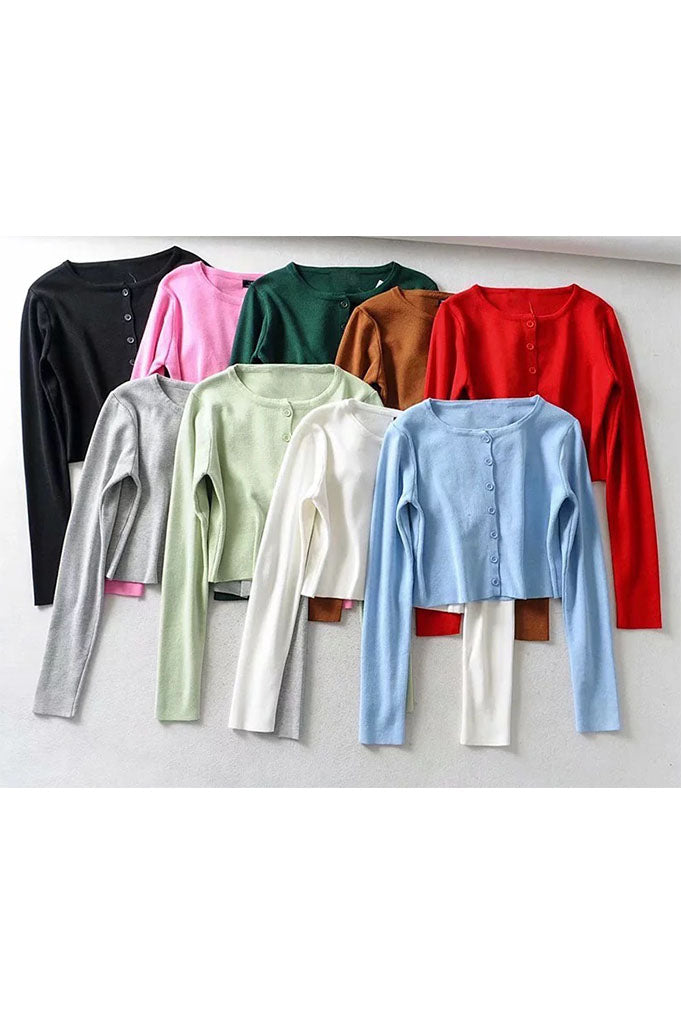 Le Cardigan - 6 Colors Available