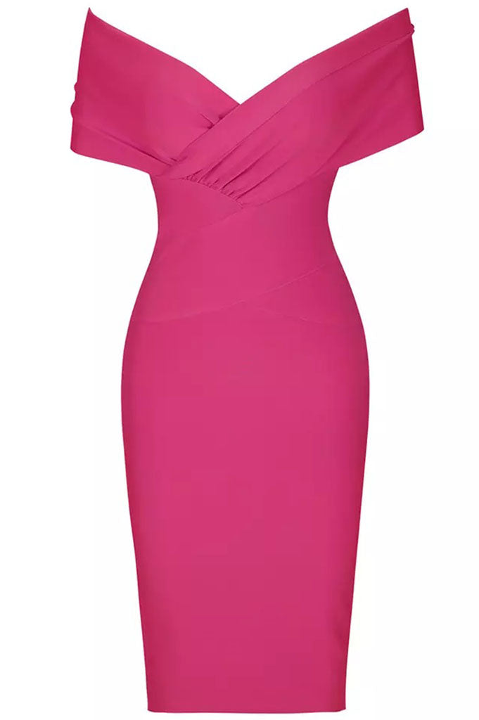 Sephina Bandage Dress - Pink