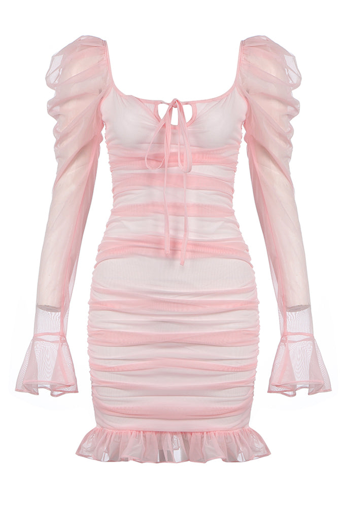 Allegra Bandage Dress  | Pink