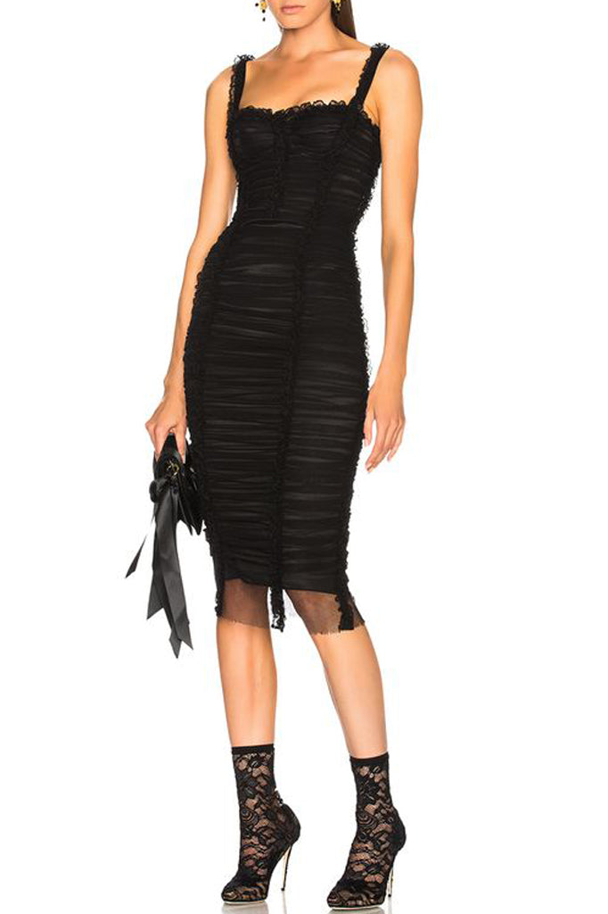 Donna Bandage Dress-Black