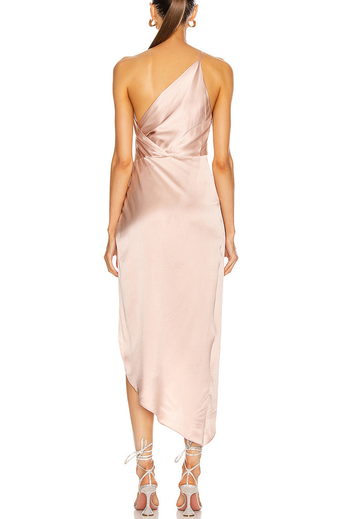 Chris Midi Dress | Pink