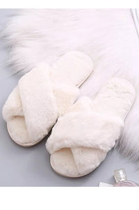 Fur Slipper - Cream