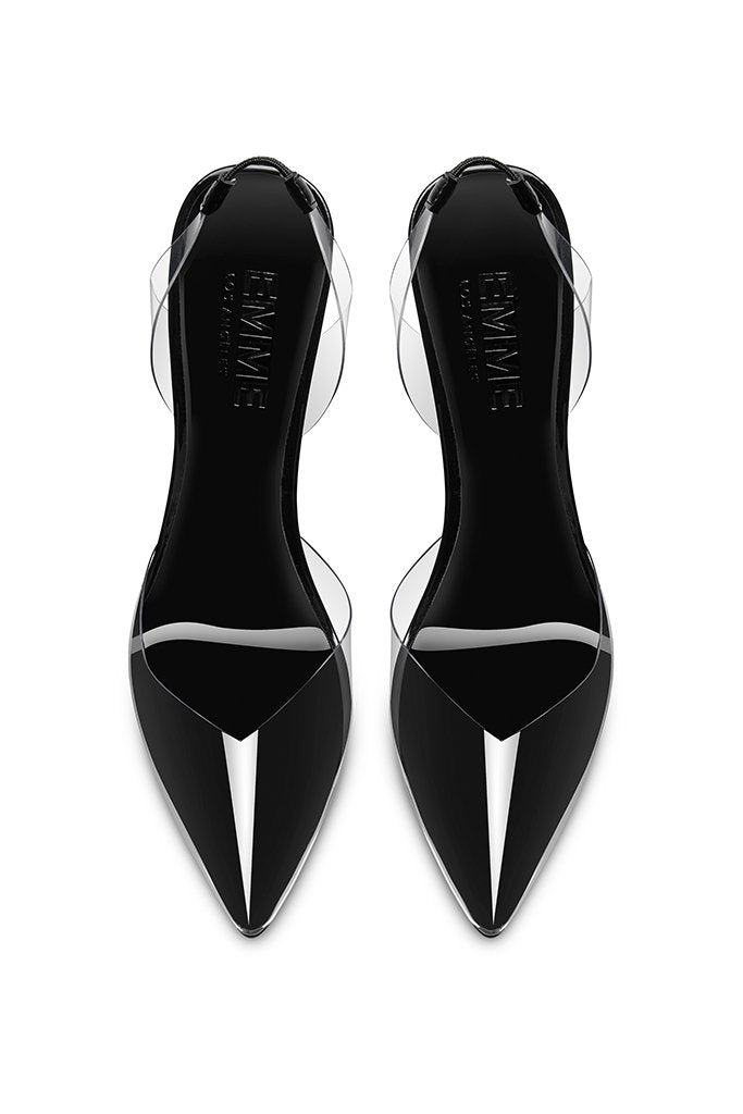 Macallan Slingback Pump - Phantom Black