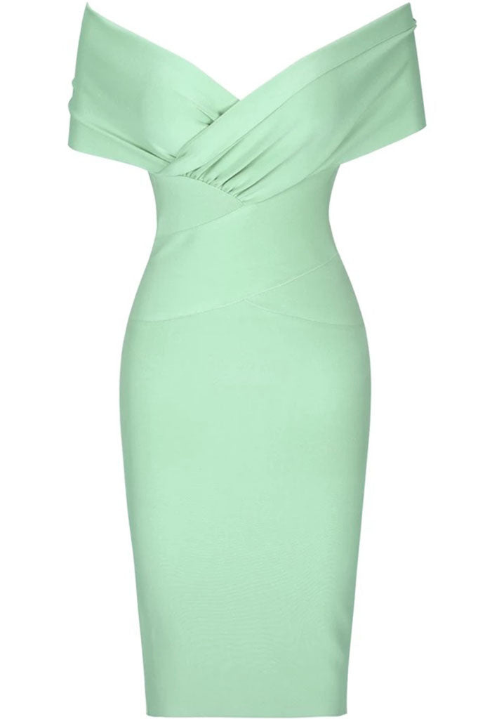 Sephina Bandage Dress - Pistachio