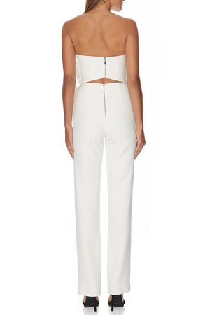 Paola Strapless Two Pieces Bandage Pant Sets